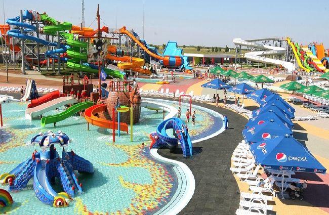 Аквапарк «Остров Сокровищ» в курортном комплексе «Азовский»