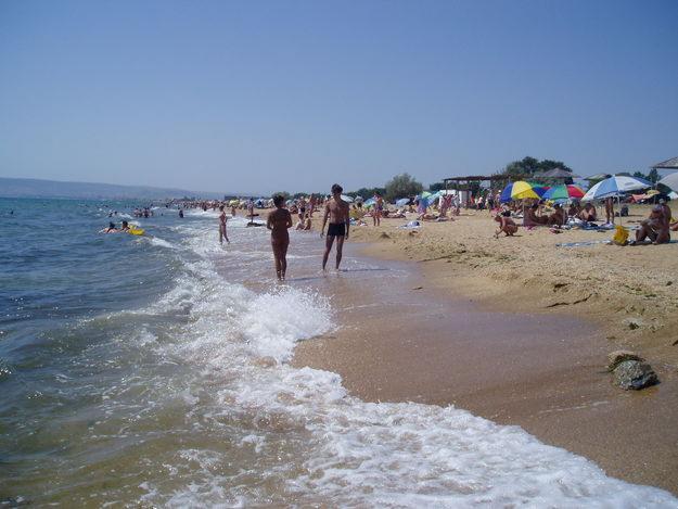 Пляж Феодосия Крым