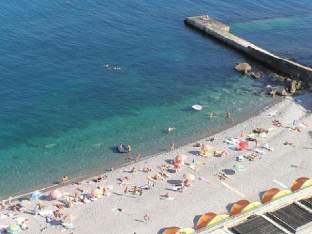 Гаспра пляж  Крым