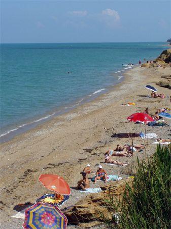 Кача. Крым. Пляж