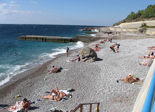 Пляж Кацивели Крым