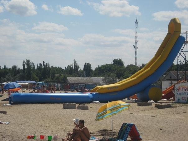 пляж Стерегущее, Крым