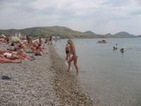 пляж Коктебель, Крым