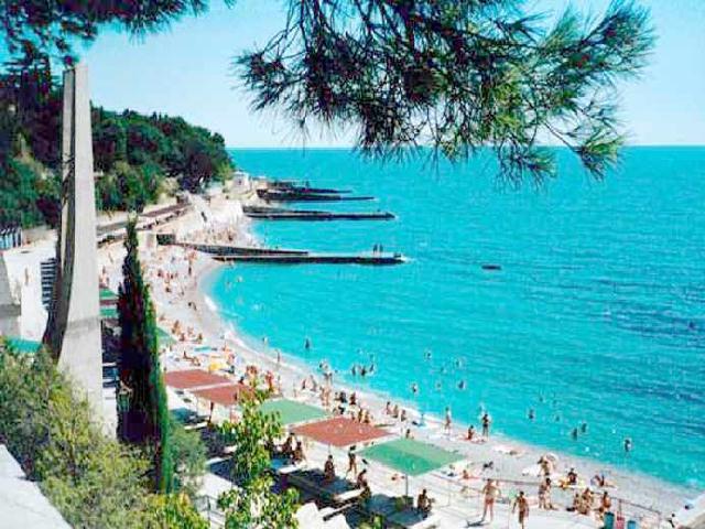 Кореиз пляж Крым