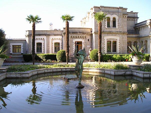 Кореиз Юсуповский дворец Крым