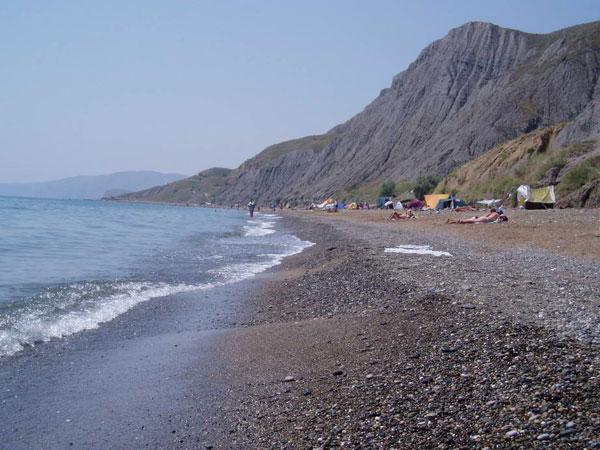 Пляж Курортное Крым