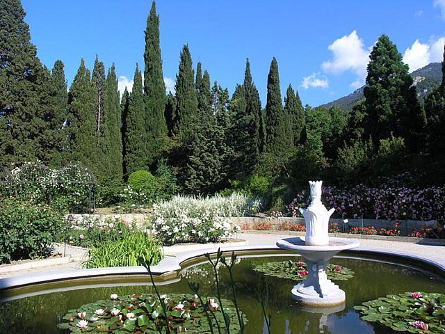 Никита Ботанический сад Крым