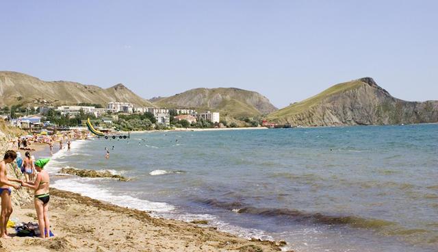 Пляж Орджоникидзе Крым