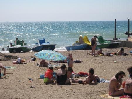 Пляж. Орловка, Крым
