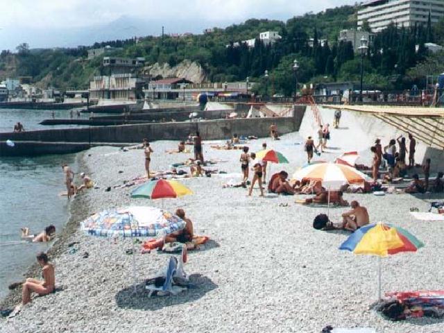 Отрадное пляж Крым