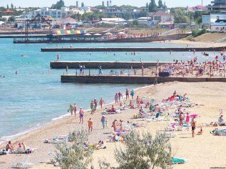 Пляж Песчаное Крым