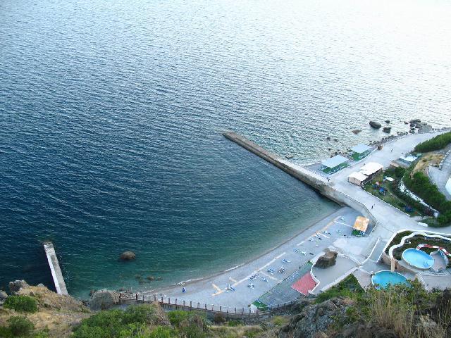 Понизовка пляж Крым