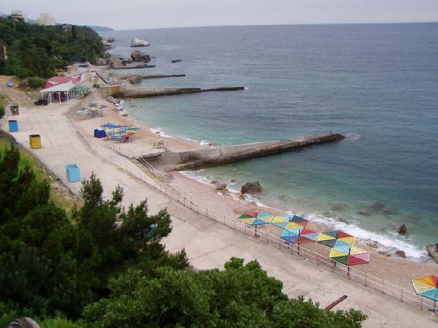 Санаторное пляж Крым