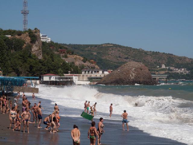 Сатера пляж Крым