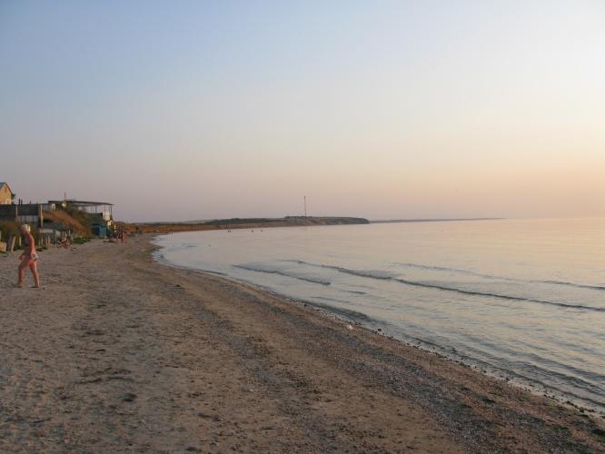 Семеновка Крым. Азовское море.