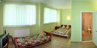 Изумрудная, гостиница – Штормовое – Крым