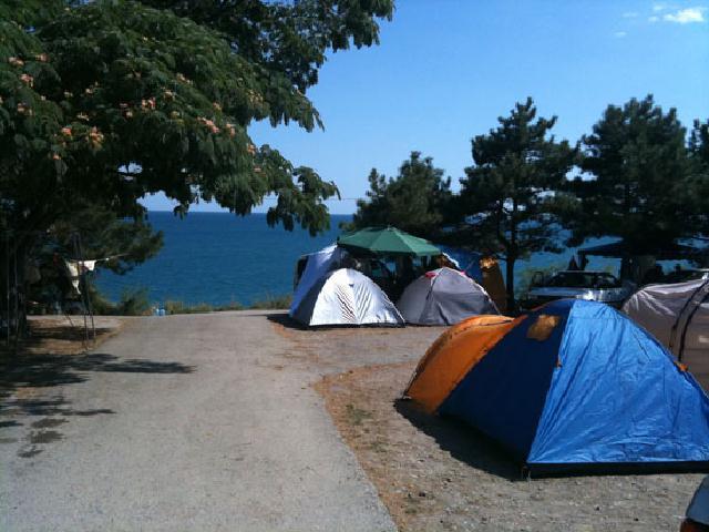 Солнечногорское палаточный городок Крым