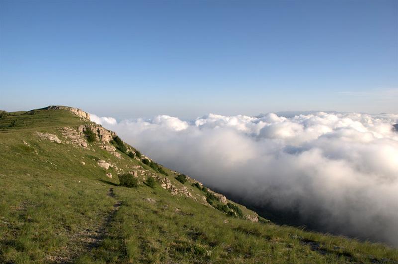 Ангарский перевал. Крым.