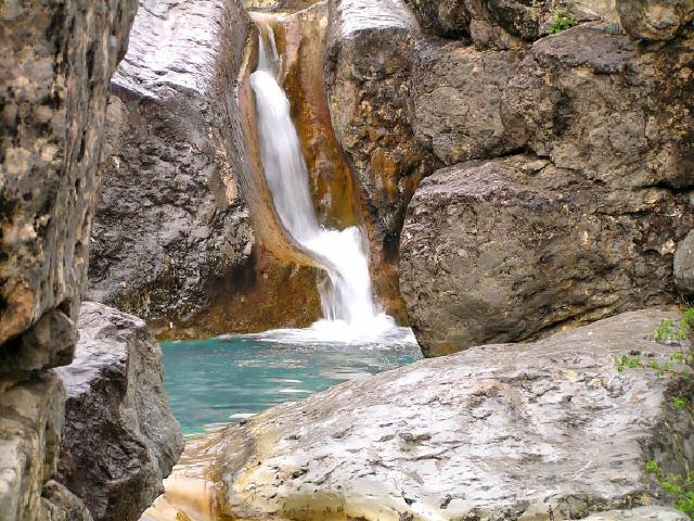 Арпатский водопад. Крым.
