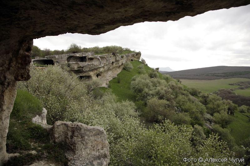 Крым. Древнее городище Бакла