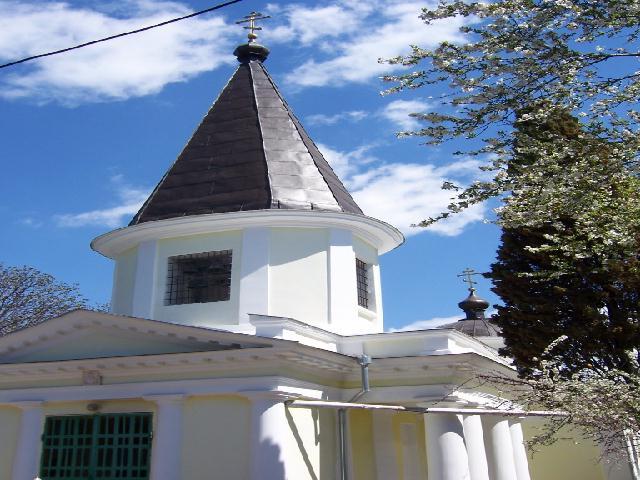 Крым. Церковь всех святых в Севастополе.