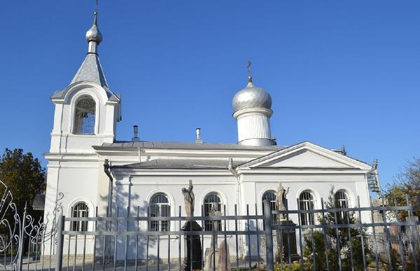 Всехсвятская церковь в Симферополе. Крым. Святыни Крыма.