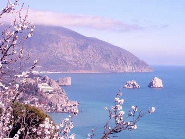 Аю-даг. Крым. Крымские горы.