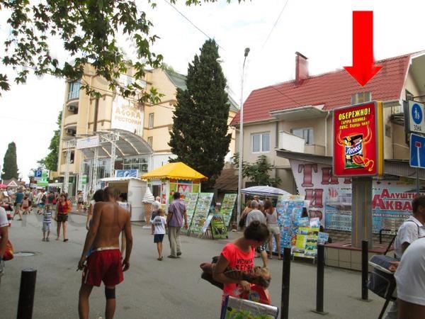 Крым город Алушта. Города и поселки Крыма.
