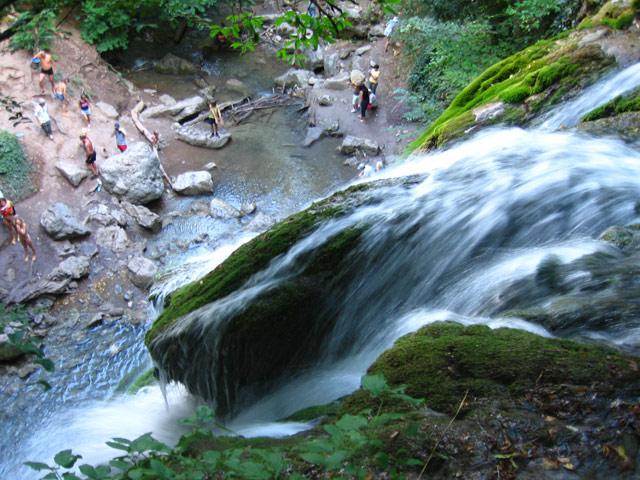 Водопад Джур-Джур Крым.