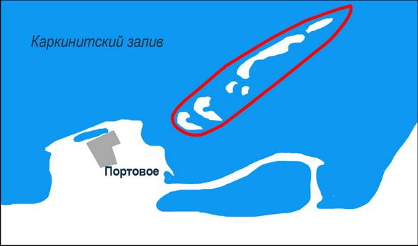 Крым. Лебяжьи острова