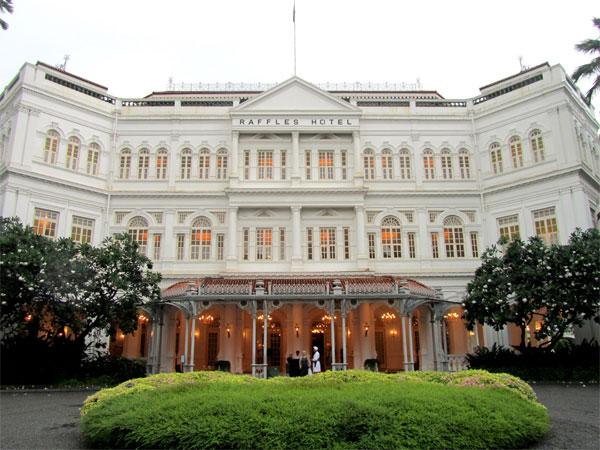 Отели Сингапура. RAFFLES HOTEL. Отели мира.