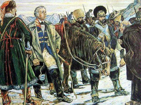 Сложности горнолыжного туризма 1799 года. Из истории путешествий.
