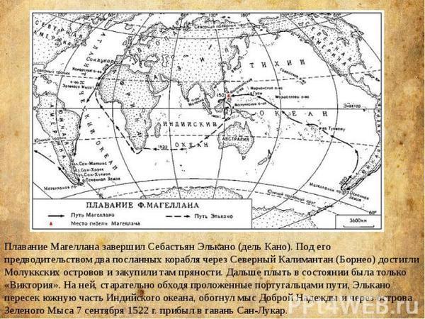 Фернан Магеллан: первая кругосветка. Из истории путешествий.