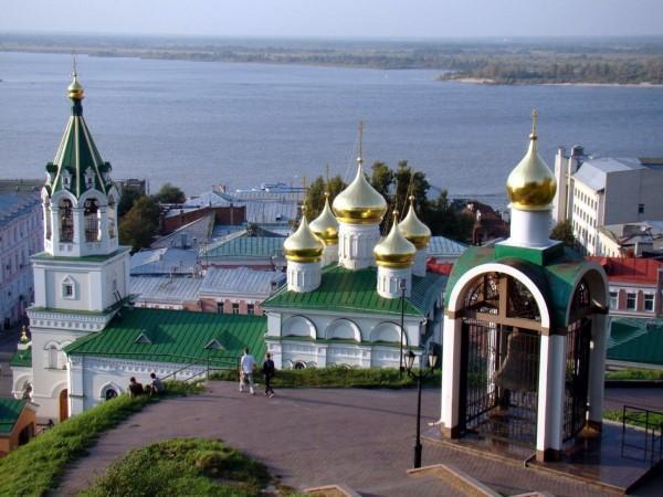 Нижний Новгород – история и описание. Города России.