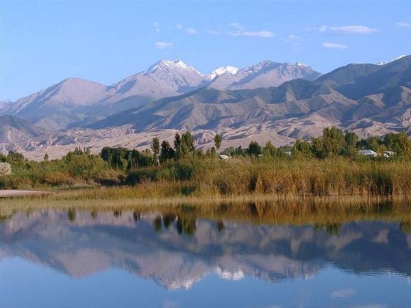 Отдых на Иссык Куле. Киргизия. Киргизия.