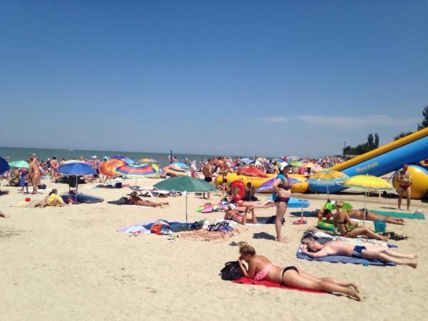 Пляжи и отдых в Ейске. Ейск.