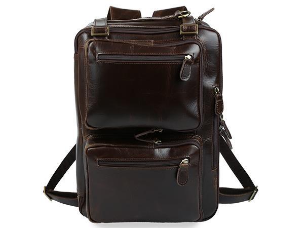 Кожаный рюкзак — аксессуар, необходимый каждому! Разное.