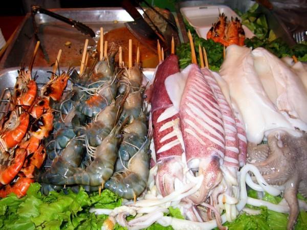 Рынки морепродуктов в Паттайе. Тайланд.
