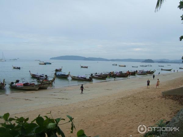 Пляж Ao Nang (Краби, Тайланд).  Тайланд.