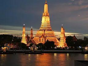Ват Арун - Храм Утренней Зари. Храмы Таиланда. Тайланд.