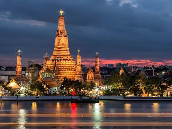 Регион Бангкок (Bangkok). Таиланд. Вьетнам.