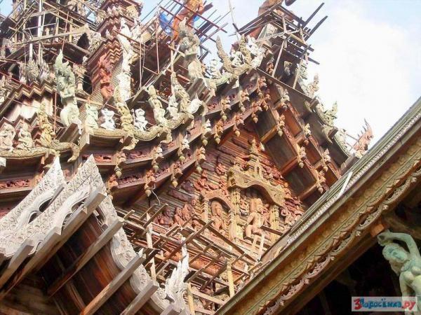 Храм истины в Паттайе: интересные факты и легенды. Таиланд