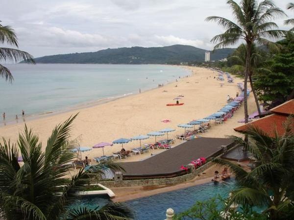 Пхукет пляж Карон — лучший пляж острова. Таиланд
