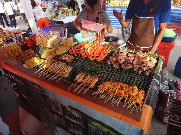 Где и какую еду покупать в китае