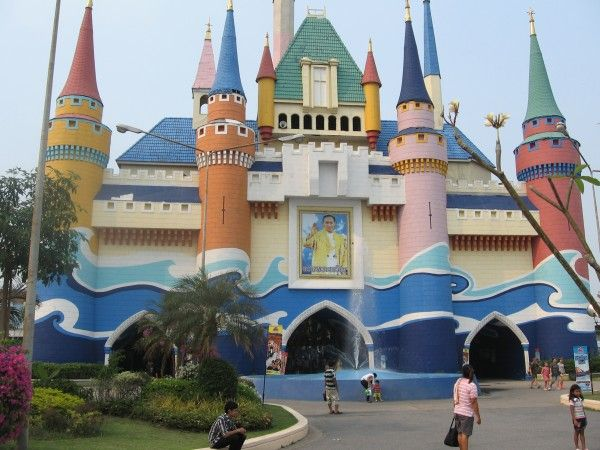 Развлекательный комплекс Сиам Парк в Бангкоке. Таиланд