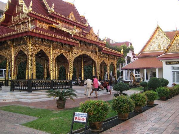 Бангкок - Национальный музей. Таиланд