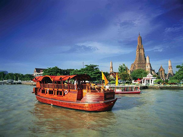 Путешествия по реке Чаупхрая. Таиланд