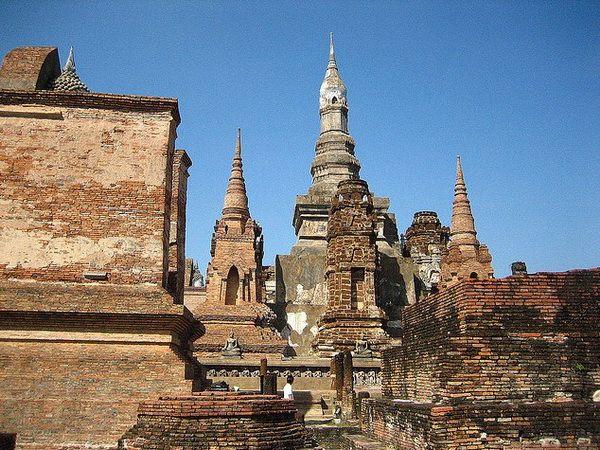 Северный Тайланд. Сукхотхай (Sukhothai). Таиланд