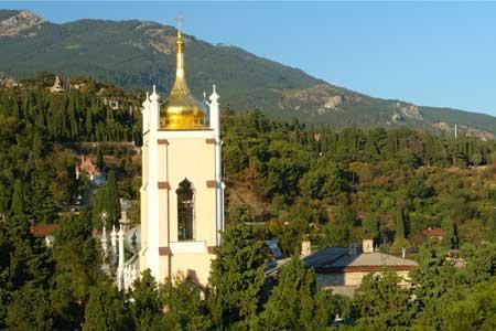 Крым. Ялтинский храм святого Иоанна Златоуста