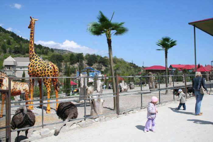 Крым. Ялтинский зоопарк «Сказка»